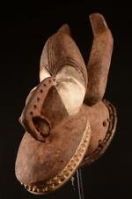 9576 Afrikanische Alte Igbo Helmmaske Nigeria Afrika