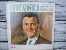 Eddy Arnold Sings Them Again 1960 Vinyl LP 33 RPM RCA Victor Record LPM 2185