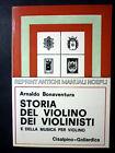 Manuali Hoepli Reprint - A. Bonaventura - Storia Violino Violinisti - Ed. 1980