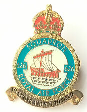 RAF No 626 Squadron Royal Air Force Pin Badge *Official Product*