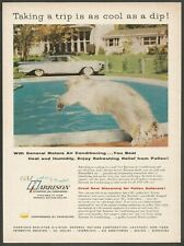 HARRISON Automotive Air Conditioning .By General Motors - 1959 Vintage Print Ad
