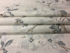 Laura Ashley Roman Blind Made to Measure Iona Slate Grey 3690836 Child Tracks