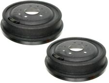 NEW Pair Set of 2 Rear Brake Drums ACDelco For Chevrolet Caprice Impala Bel Air