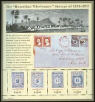 United States #3694 MNH S/S CV$5.00 Hawaiian Missionaries
