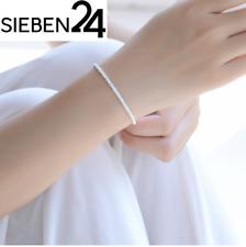 l'atolye Damen Armband Schmuck Armkette silber plattiert Design Kette A14