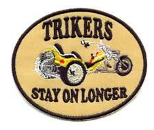 TRIKE  Aufnäher Patch Trikers Biker