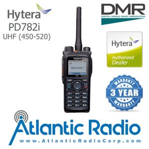 Hytera PD782i Portable Radio UHF (450-520) Digital (DMR) Analog (Wide-Band) GPS