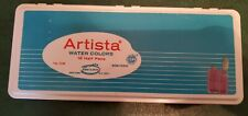 Vintage Artista Water Colors Binney & Smith Art Deco Tin Box Paints Usa #1