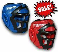 New Headgear Head Guard Training Kick Boxing Protector Sparring Gril Helmet TM