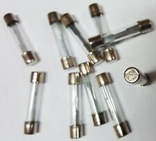AGC25 25 AMP GLASS TYPE FUSES 10Pcs