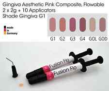 Gingiva GUM SHADE ESTETICA ROSA Flowable Dental Composite 2 x 2g, vita G1