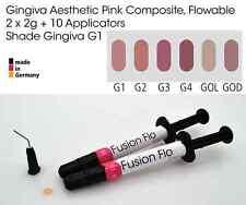 Gingiva Gum Shade Aesthetic Pink Flowable Dental Composite 2 x 2g, VITA G1