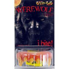 Werewolf Teeth Billy Bob Acrylic Teeth with Fixative Fancy Dress Adult