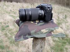 Fotocamera Bean Bag. a sostegno della fotocamera e lenti per un'immagine chiara. precompilati.