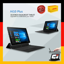 CHUWI Hi10 Plus 10.8'' Zoll 4+64GB Win10+Android 5.1 WLAN+3G Tablet PC +Keyboard