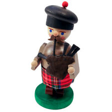 Standing Bag Pipe Playing Incense Burner Smoker Made In Germany