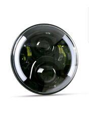 2X 7Inch Round LED Headlights Hi/Lo Beam DRL Light for Jeep Wrangler JK LJ TJ