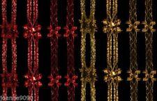 Décorations de fête rouge pour Noël pour la maison