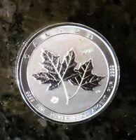 2018 Canada 2 oz $10 Maple Leaf twin Leafs Silver Bullion Coin .9999
