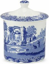 Spode Blue Italian Large Storage Jar 19cm
