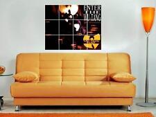 "Wu Tang Clan 36""x32"" Inch Mosaic Wall Poster Enter The Wu-tang 36 Chambers"