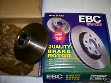 EBC Brake Discs MG ZR ZS 1.8 120 Rear Solid D411 New
