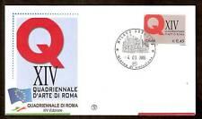 2005 ITALIA FDC QUADRIENNALE D'ARTE DI ROMA