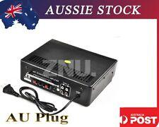 12V/220V Mini Car Home Hifi Audio Amplifier AMP For Ipod MP3 palyer FM Radio USB