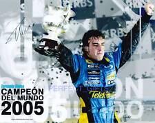 FERNANDO ALONSO SIGNED PP PHOTO F1 racing formula one