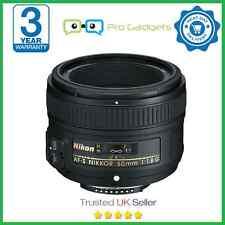 Nikon Af-s Nikkor 50mm Lente f/1.8G - caja por menor - 3 Año De Garantía
