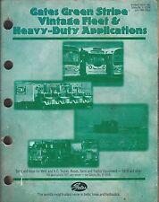 New ListingOld vintage gates green stripe fleet heavy duty applications belts hose pre 1970