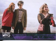Doctor Who Timeless Green Parallel Base Card #72 Time of Angels