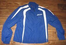 Bandimere Speedway Drag Racing Mens Windbreaker Jacket, Blue, Size S, EUC