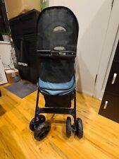 Pet Gear NO-Zip Happy Trails Lite Pet Stroller for Cats/Dogs, Storage Basket