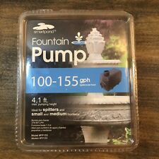 Smartpond 100-155 GPH PUMP Ideal for spitters,small and medium Fountains.