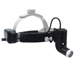 Dental 5W Surgical Headlight LED Medical Head Light Good Light Spot DY-006 Black