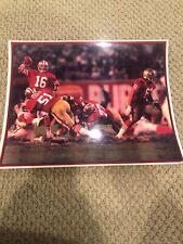 Joe Montana San Francisco 49ers Laminated Photo