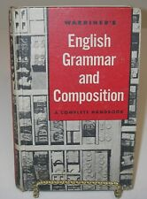 Warriner's English Grammer and Composition A Complete Handbook 1957 Book