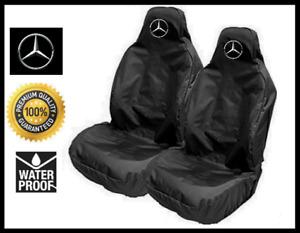 MERCEDES BENZ CAR SEAT COVERS PROTECTORS x2 | AMG G GL GLA GLC GLE GLS M S CLASS