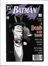 BATMAN #429  [1989 FN]  A DEATH IN THE FAMILY PT.4   JOKER COVER!