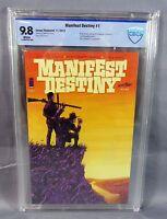 MANIFEST DESTINY #1 (First Print, White Pages) CBCS 9.8 NM/MT Image Comics 2013