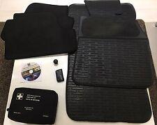 Bmw E87/e92 Coupe Misc. Rubber Mats, Velour Rear Mats, Key Holder, First Aid Kit