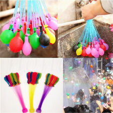 111/222/333x Magic Water Balloons Self Tying Bunch O Balloon Bombs Party Toys AU