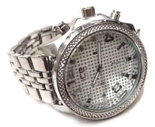 Mens Fashion Watch Ice Master BM1164 Silver Metal Bracelet Band Water Resistant