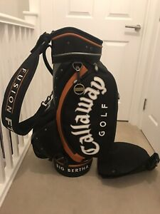 Callaway Tour Bag + Original Hood/Strap. Great Condition - Used by Peter McEvoy.