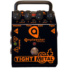 Amptweaker Tight Metal ST Distortion Guitar Effects Pedal with SideTrak +Picks