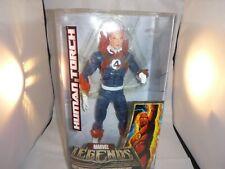 "HUMAN TORCH (Johnny Storm) Fantastic 4 Marvel Legends 12"" Icons Series- NIB"