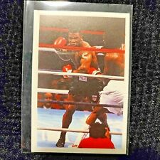 1987 Question Of Sport Mike Tyson Boxing Card Rookie RC Nr Mint