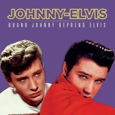 JOHNNY HALLYDAY- ELVIS PRESLEY  QUAND JOHNNY REPREND ELVIS ( RSD 2018 LP 180 G)