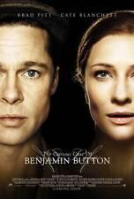 THE CURIOUS CASE OF BENJAMIN BUTTON Movie POSTER 27x40 C Brad Pitt Tilda Swinton